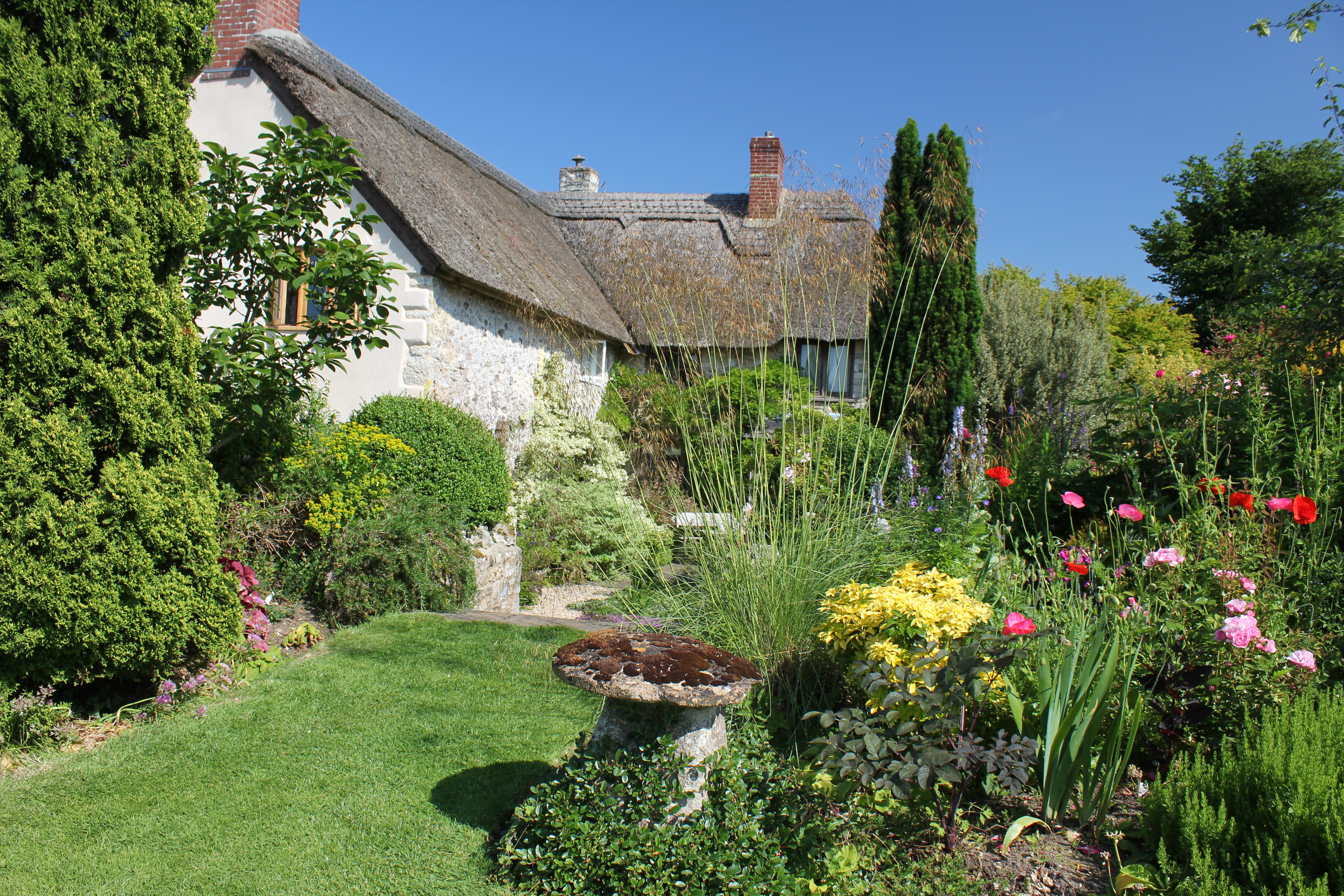 Ancora 4 posti liberi per vedere i cottage garden e roseti for Esempi di giardini
